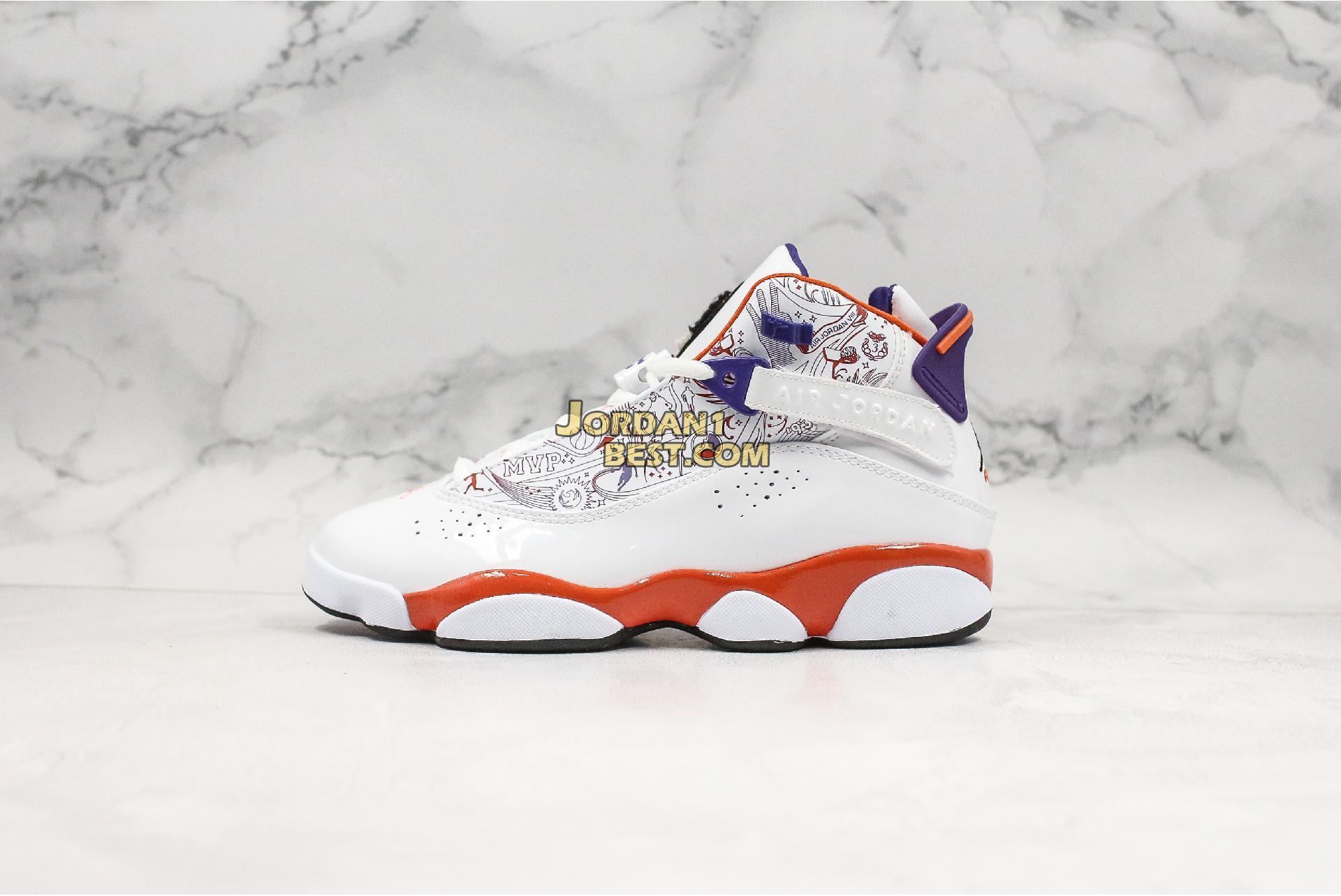 """Air Jordan 6 Rings """"Phoenix Suns"""" 322992-101 Mens Womens"""