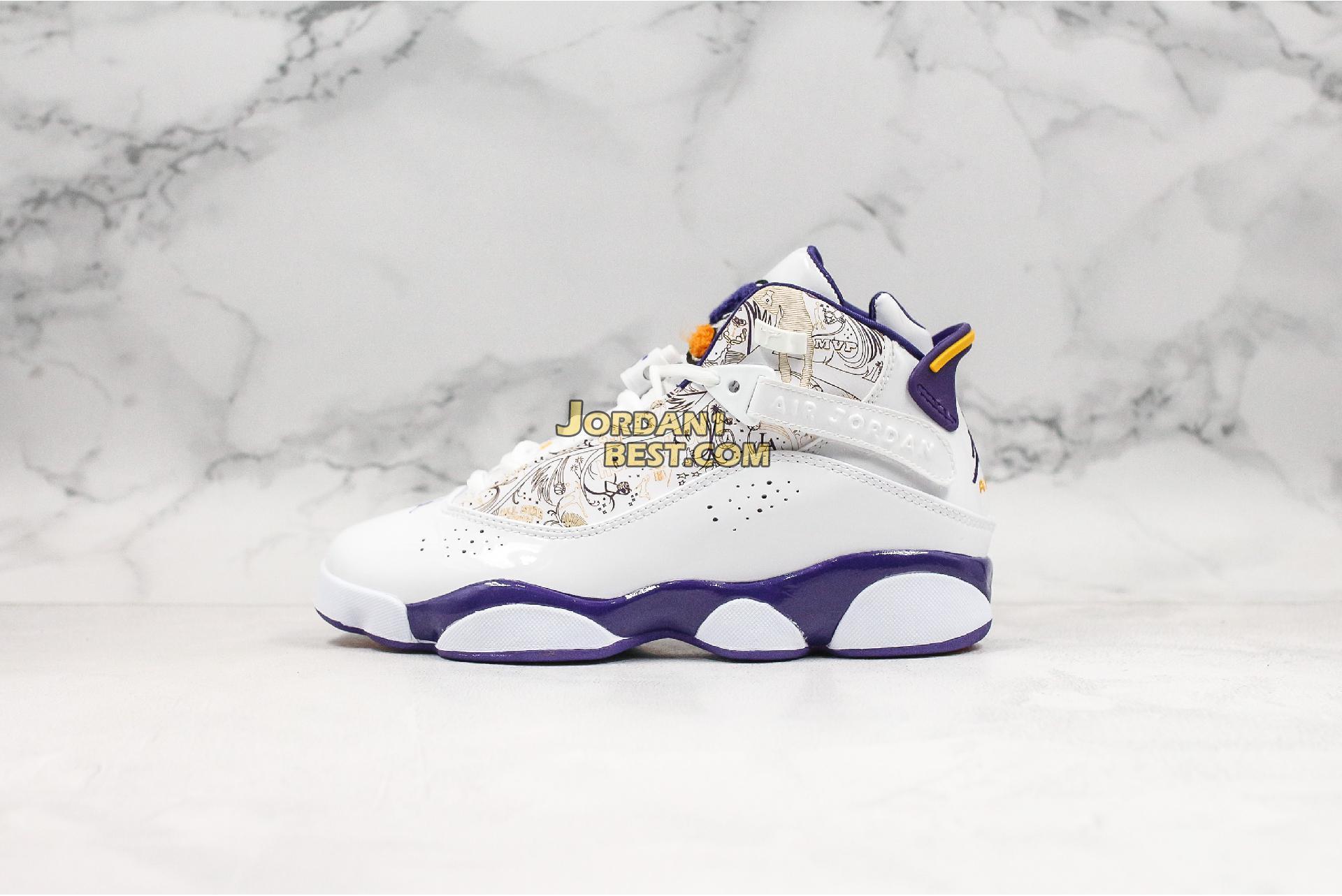 "Air Jordan 6 Rings ""Hollywood"" 322992-152 Mens Womens"