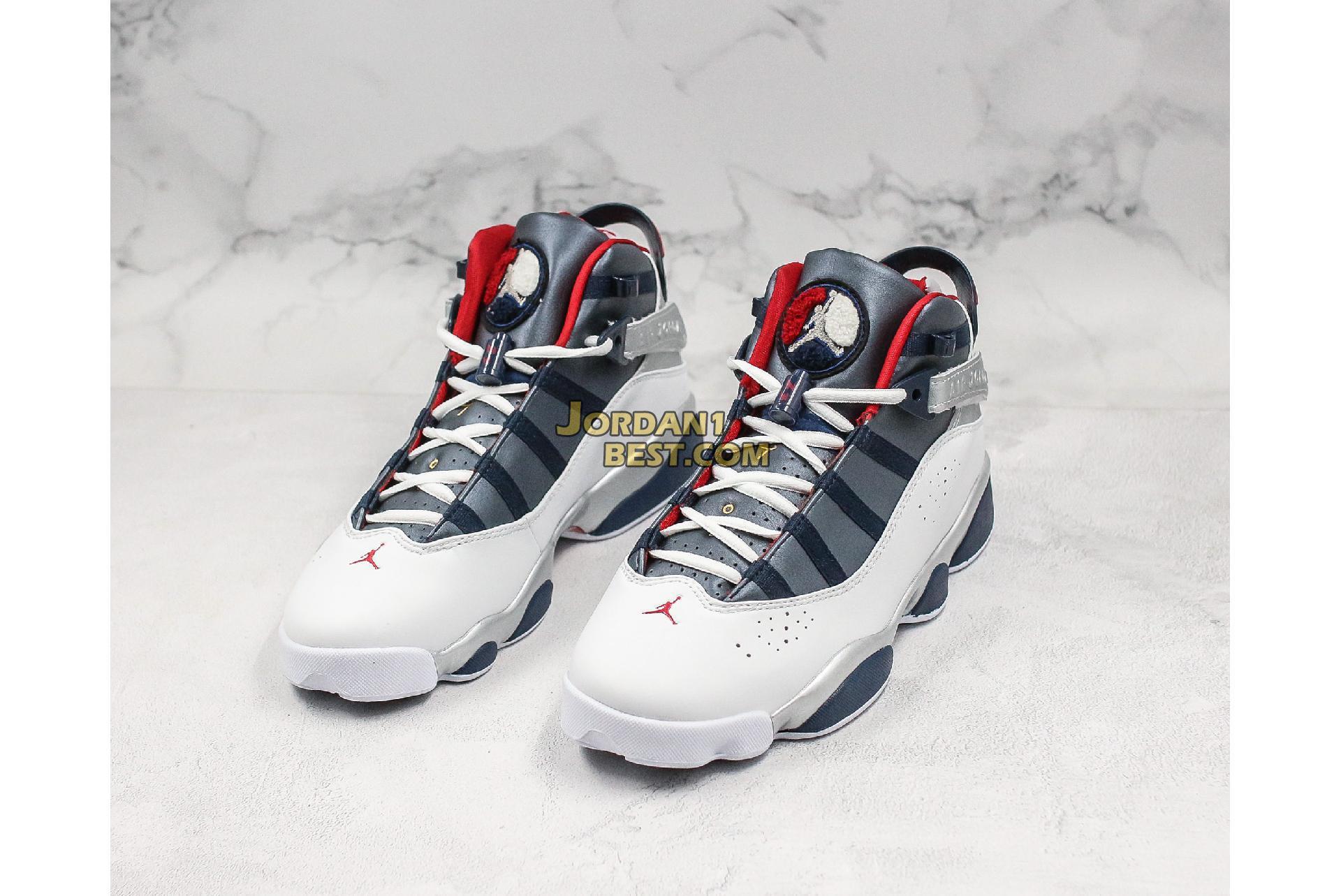"""Air Jordan 6 Rings """"Olympic"""" 322992-161 Mens Womens"""