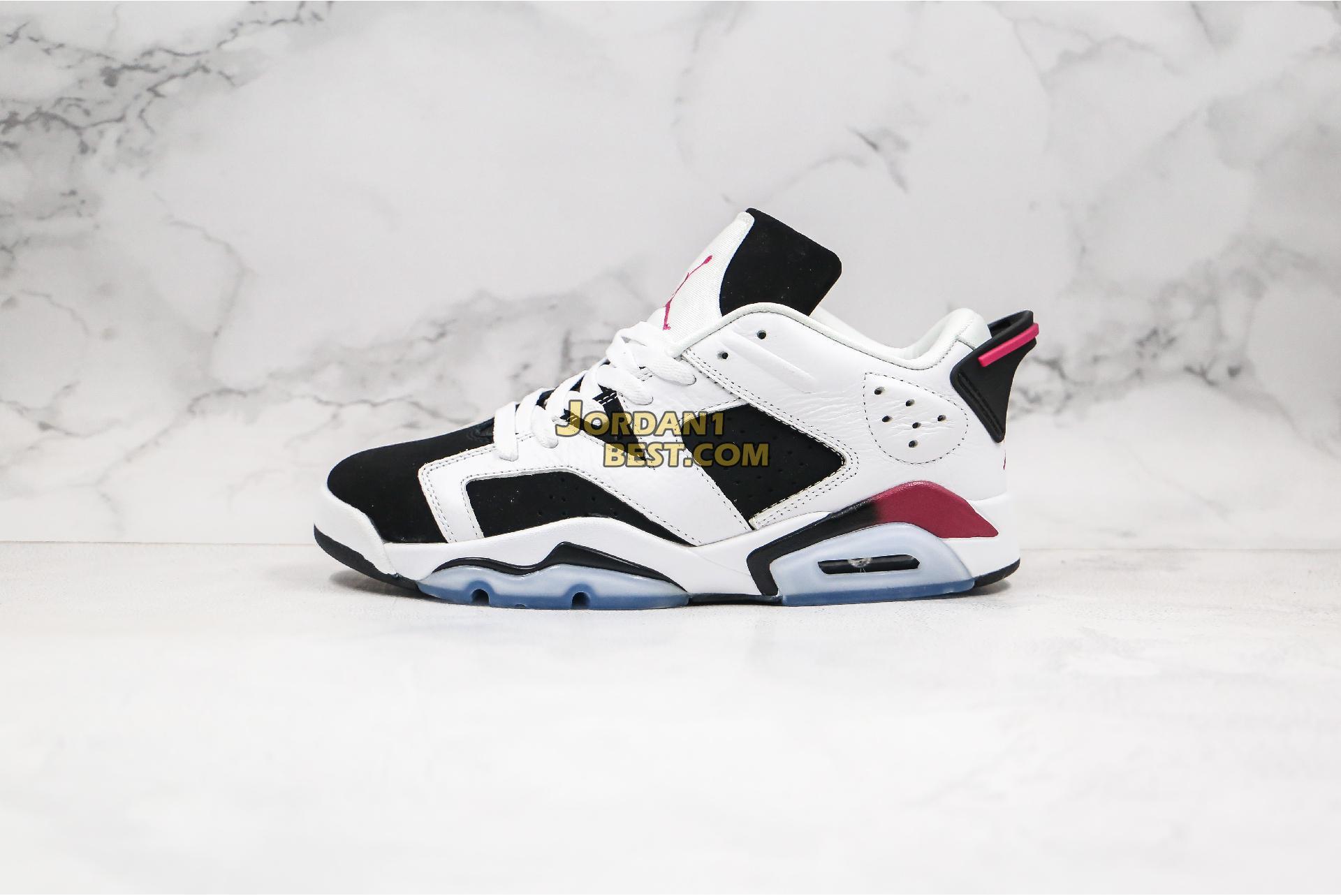 """Air Jordan 6 Retro Low """"Fuchsia"""" 768878-107 Mens"""