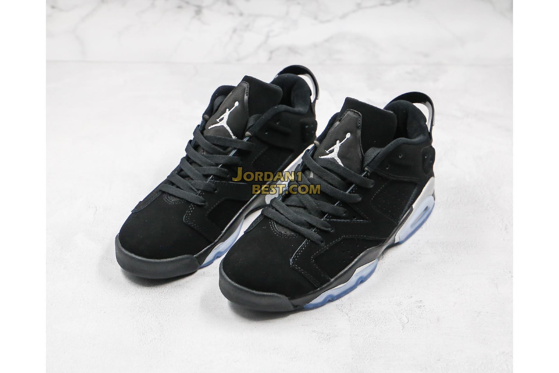 """Air Jordan 6 Retro Low """"Chrome"""" 304401-003 Mens"""