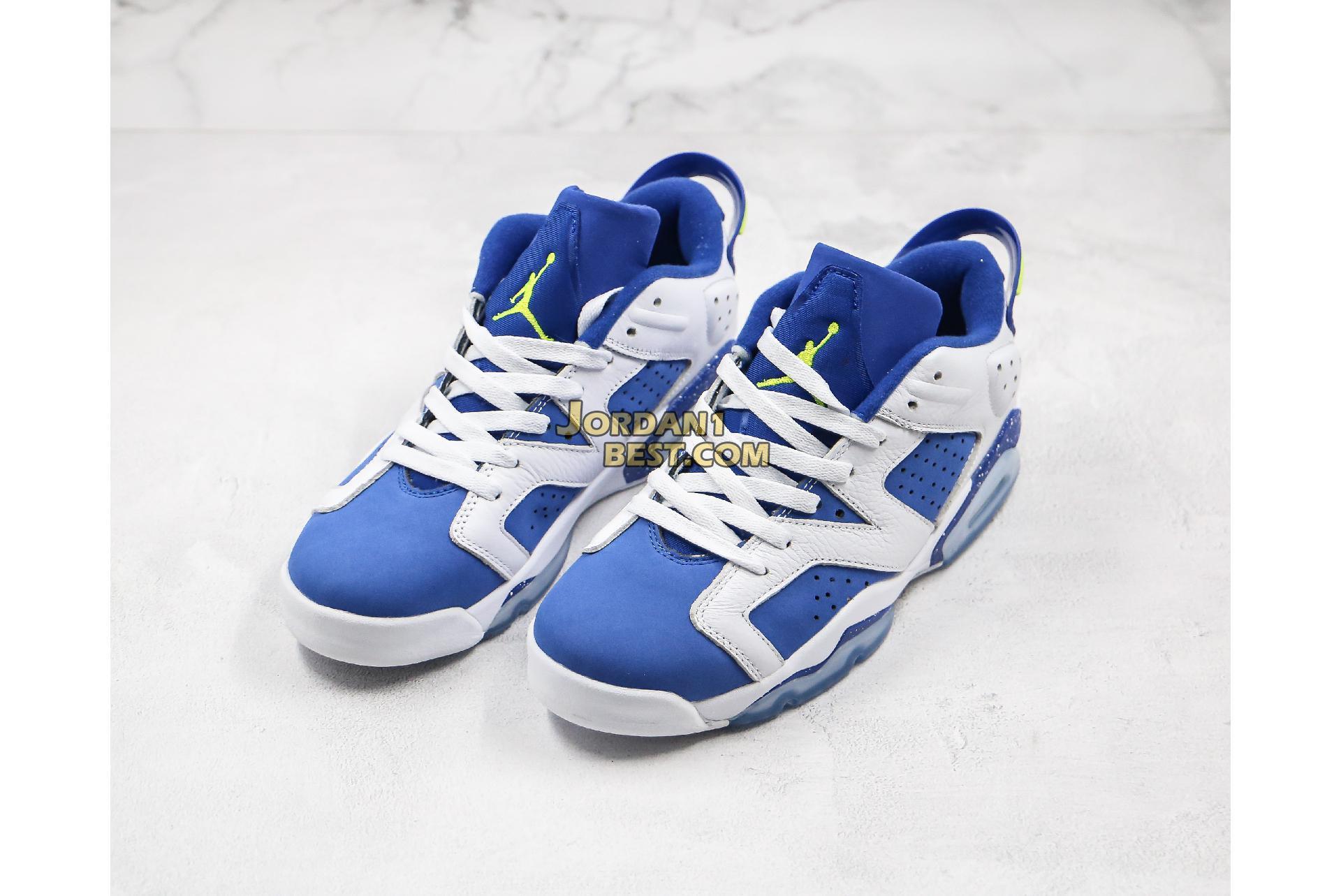 "Air Jordan 6 Low ""Insignia Blue"" 304401-106 Mens"