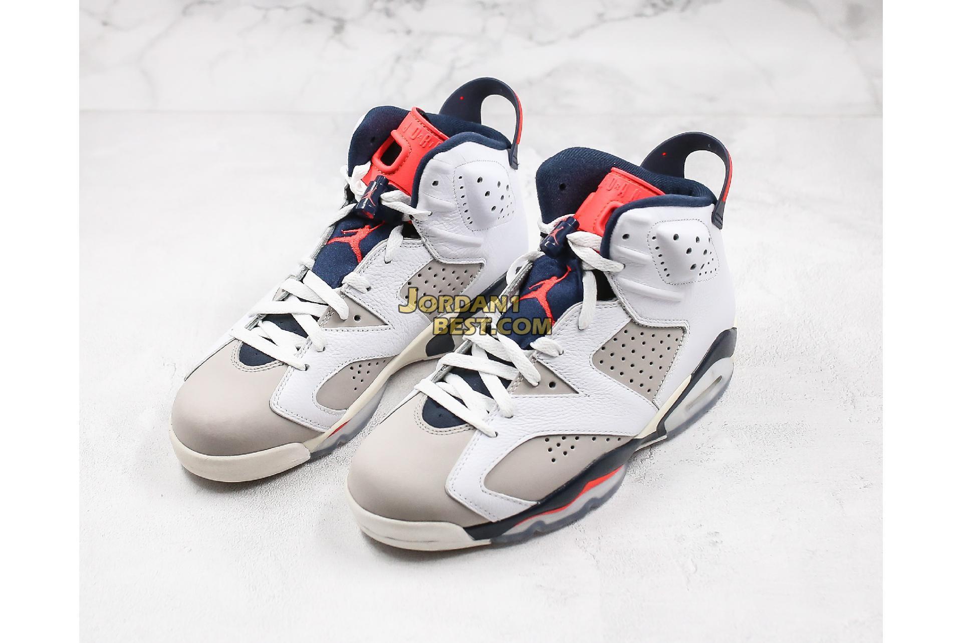 "Air Jordan 6 Retro ""Tinker"" 384664-104 Mens"