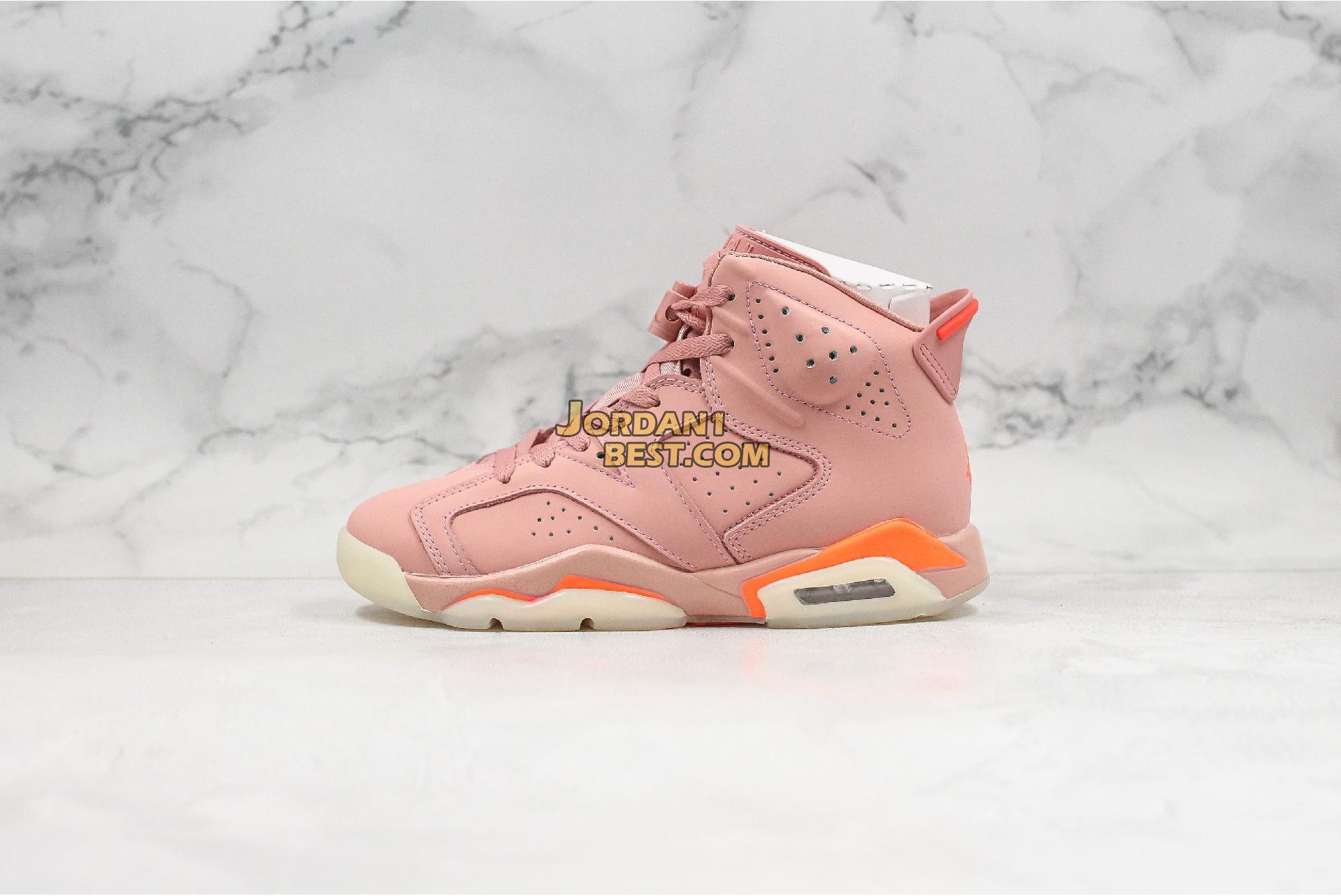 "Aleali May x Air Jordan 6 Retro ""Millennial Pink"" CI0550-600 Mens Womens"
