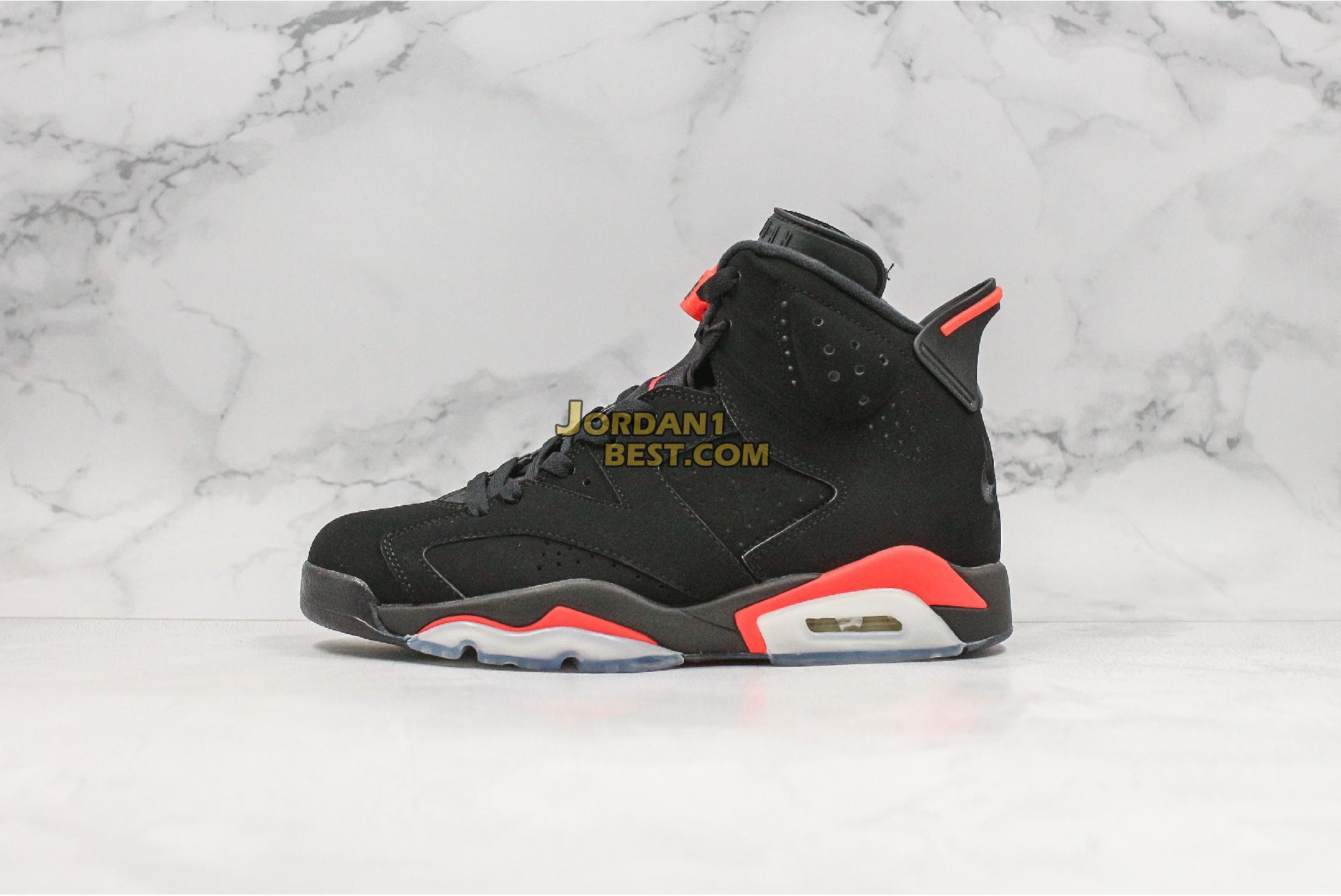 """2019 Air Jordan 6 Retro """"Infrared"""" 384664-060 Mens"""