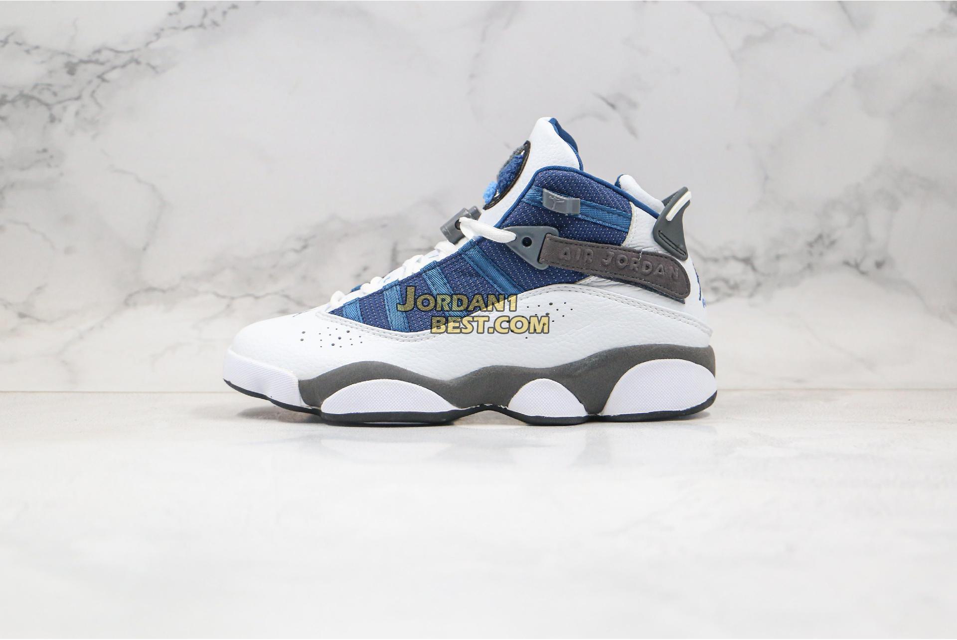 """Air Jordan 6 Rings """"Flint"""" 322992-141 Mens Womens"""