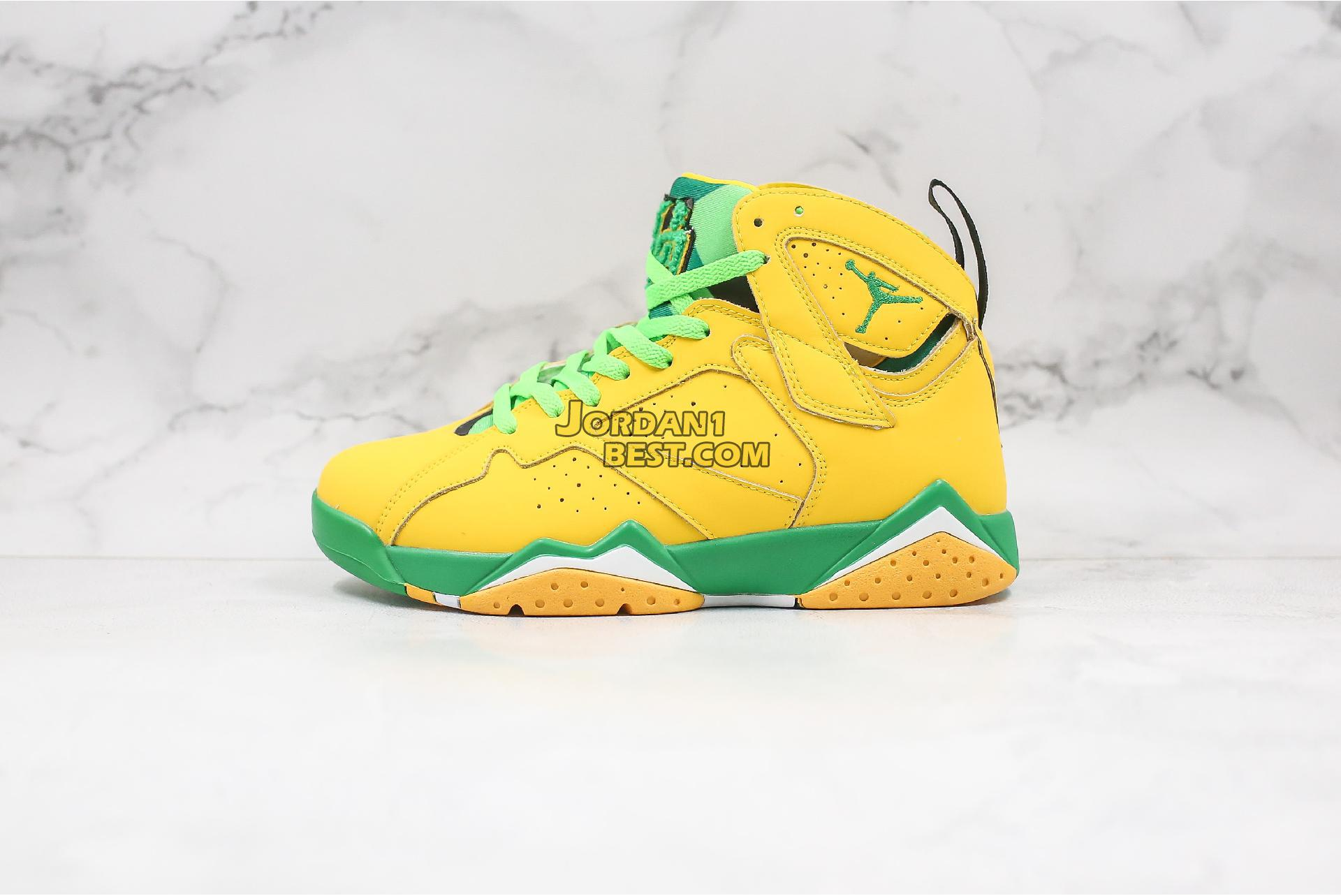 """Air Jordan 7 """"Oregon Ducks"""" AT3375-300 Mens"""