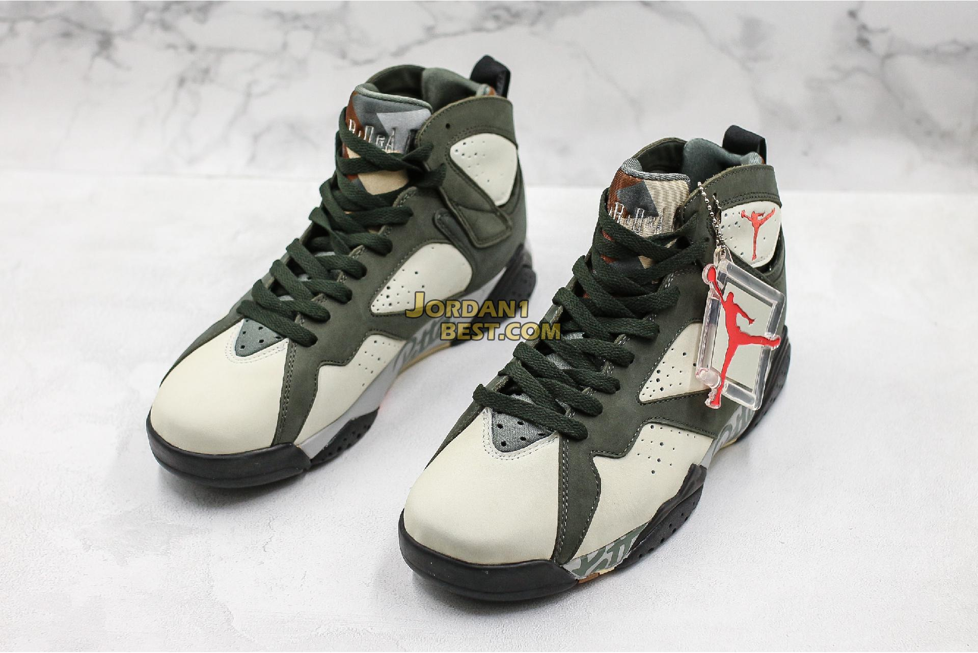 """Patta x Air Jordan 7 Retro OG SP """"Shimmer"""" AT3375-200 Mens"""