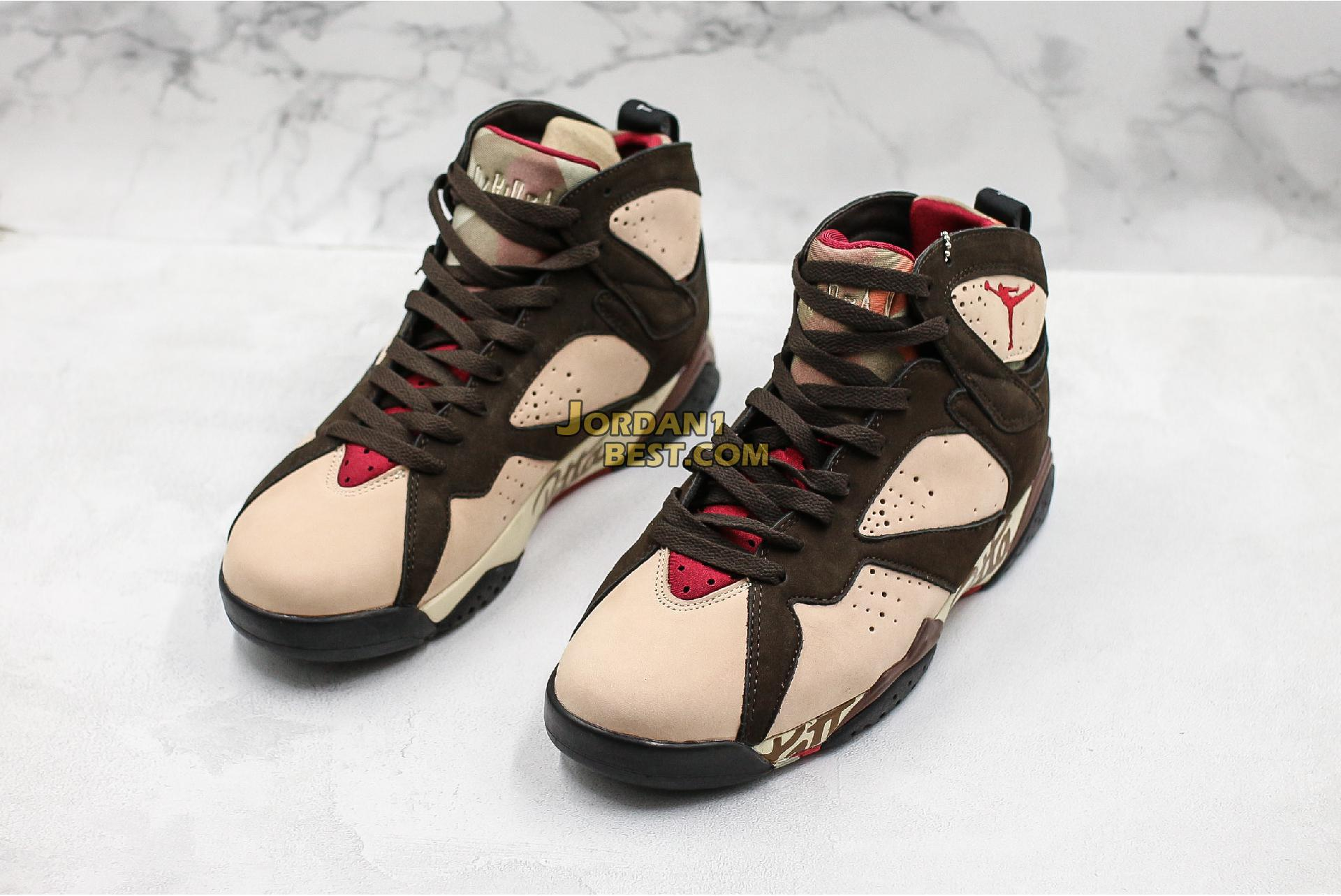 "Patta x Air Jordan 7 Retro OG SP ""Icicle"" AT3375-100 Mens"