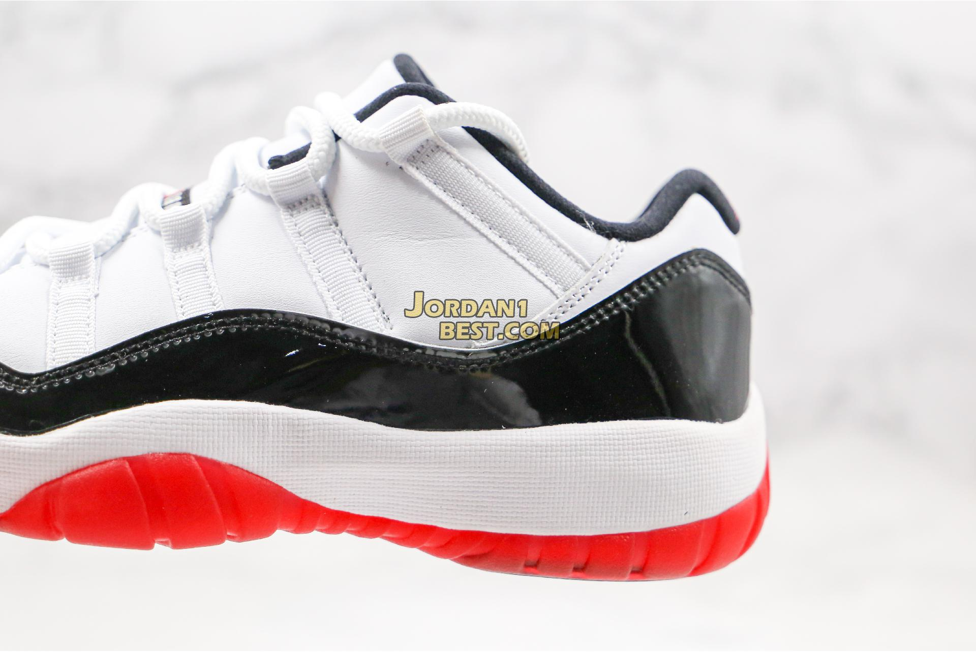 "Air Jordan 11 Retro Low ""Concord-Bred"" AV2187-160 Mens"