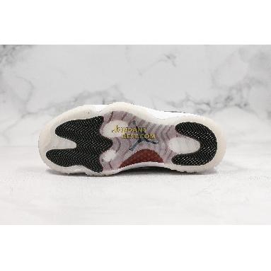 """new replicas Air Jordan 11 Retro """"72-10"""" 378037-002 Mens black/gym red white-anthracite Shoes"""