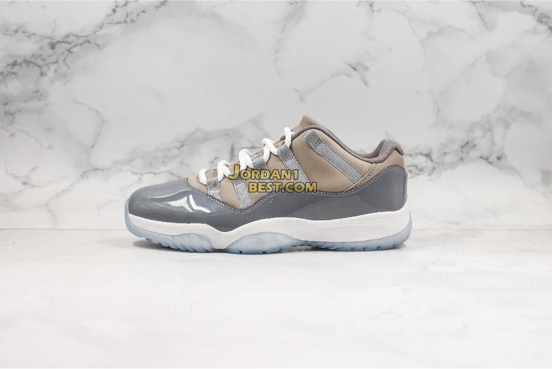 "Air Jordan 11 Retro Low ""Cool Grey"" 528895-003 Mens"