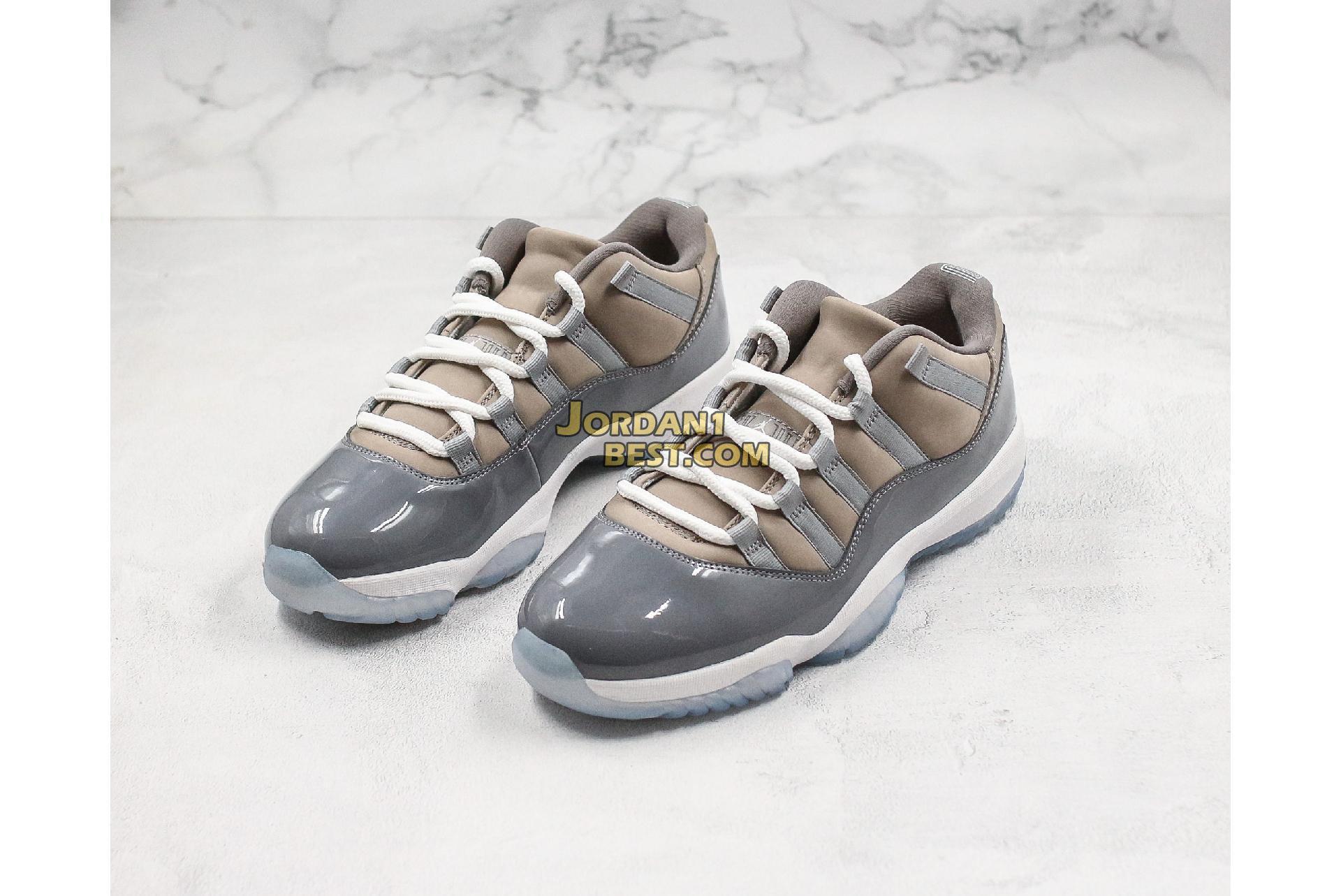 """Air Jordan 11 Retro Low """"Cool Grey"""" 528895-003 Mens"""