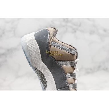 "top 3 fake Air Jordan 11 Retro Low ""Cool Grey"" 528895-003 Mens medium grey/gunsmoke-white Shoes"