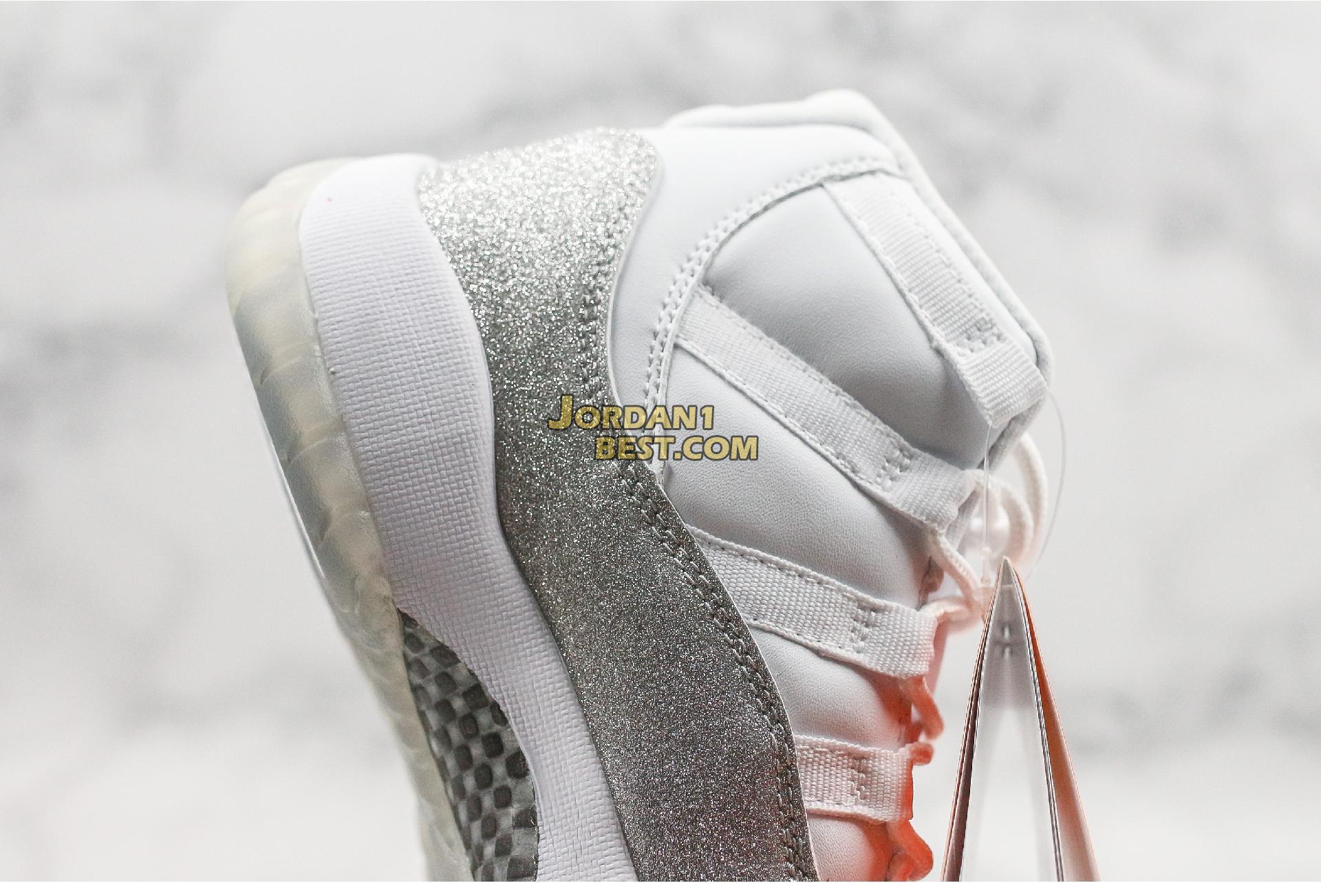 """Air Jordan 11 Retro """"Vast Grey"""" AR0715-100 Mens Womens"""