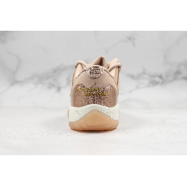 "new replicas Air Jordan 11 Low ""Rose Gold"" AH7860-105 Womens sail/metallic red bronze-gum brown Shoes"