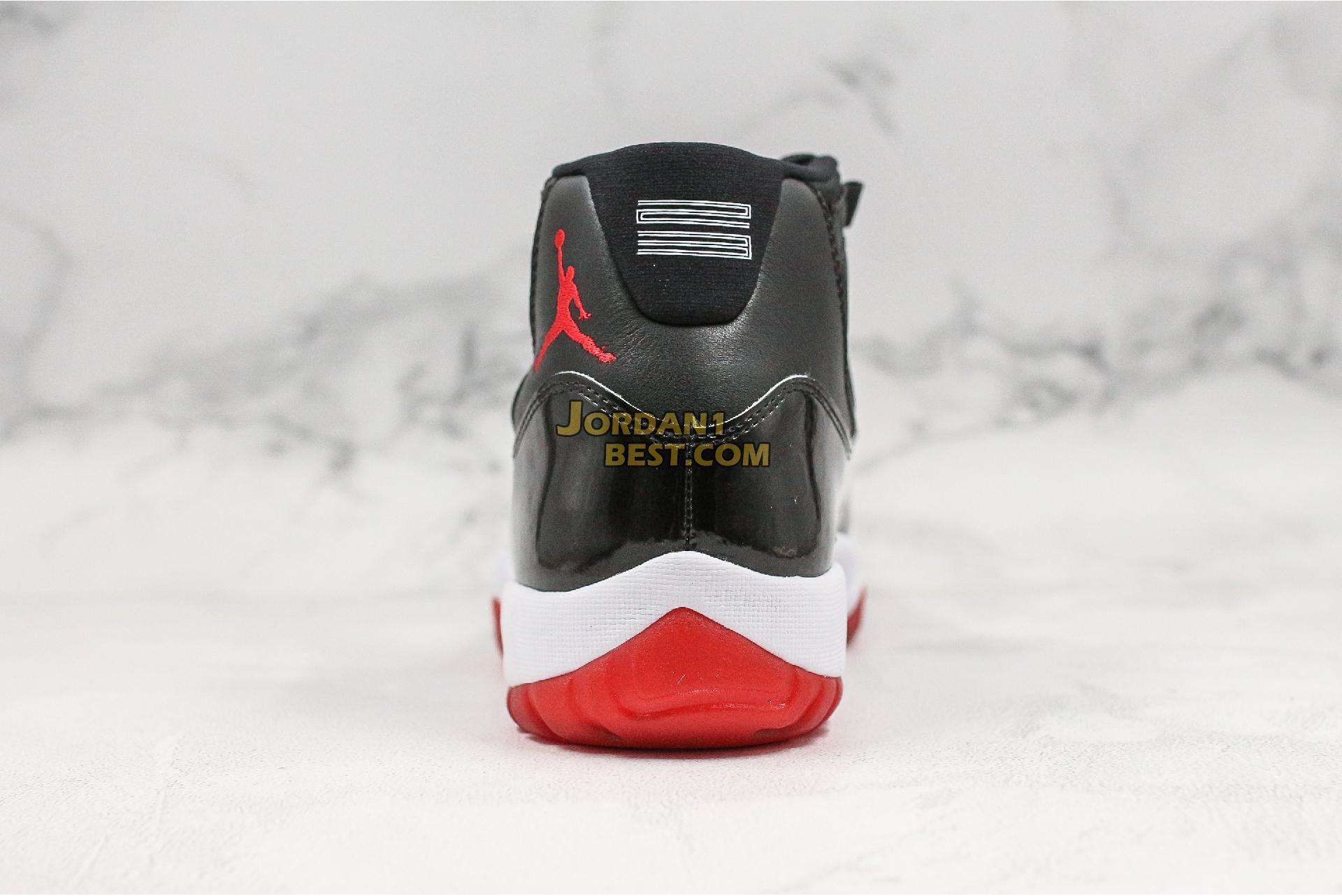 """2019 Air Jordan 11 Retro """"Bred"""" 378037-061 Mens"""