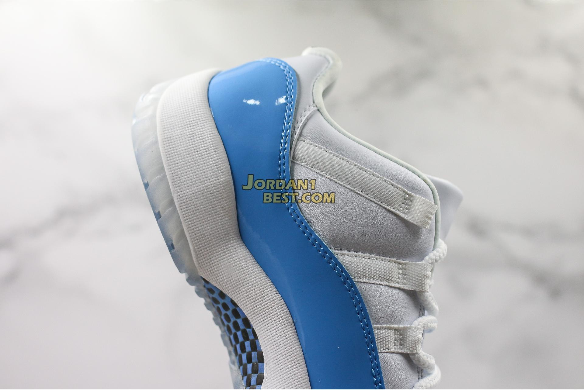 "Air Jordan 11 Retro Low ""UNC"" 528895-106 Mens"