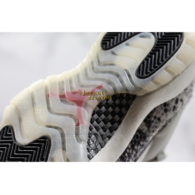 "AAA Quality Air Jordan 11 Retro Low ""Light Bone Snakeskin"" CD6846-002 Mens light bone/university red-sail-black Shoes"