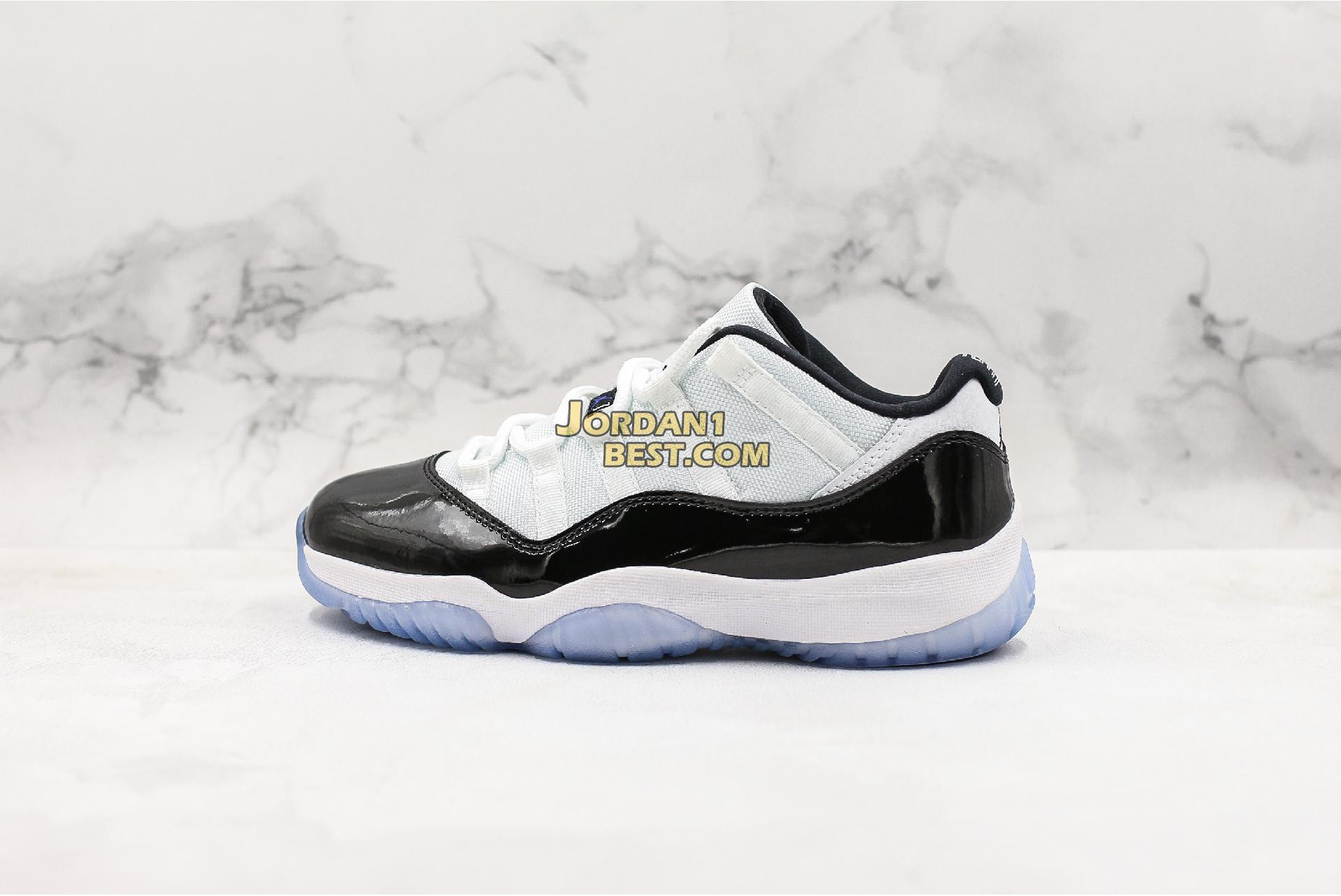 "Air Jordan 11 Retro Low ""Concord"" 528895-153 Mens"