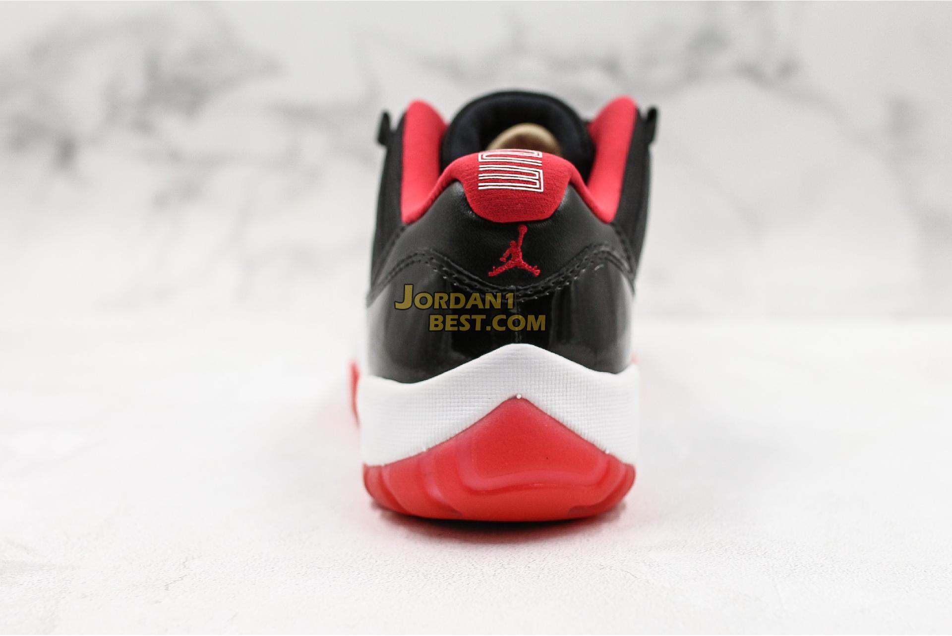 """Air Jordan 11 Retro Low """"Bred"""" 528895-012 Mens"""