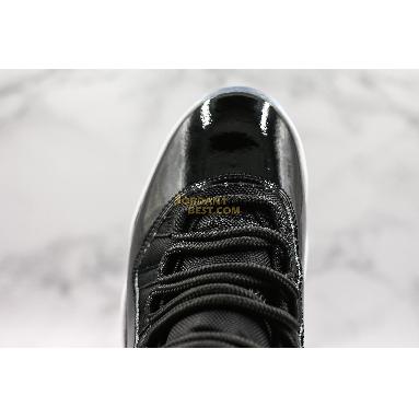"""new replicas Air Jordan 11 Retro """"Space Jam"""" 919712-041 Mens Womens black/concord-white Shoes"""