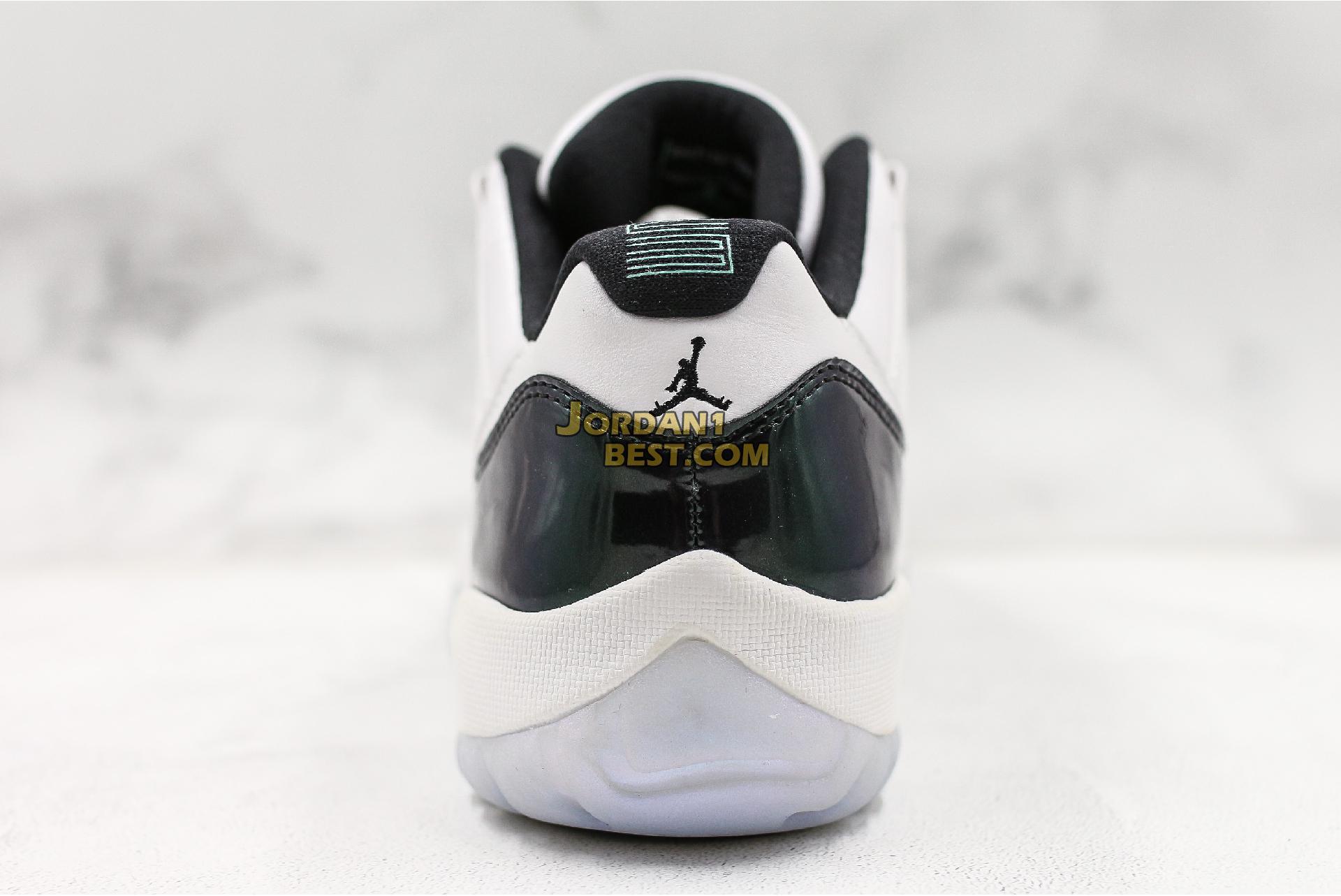 """Air Jordan 11 Retro Low """"Emerald"""" 528895-145 Mens"""