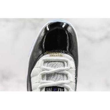 "top 3 fake Air Jordan 11 Retro ""Concord"" 378037-100 Mens white/black-dark concord Shoes"