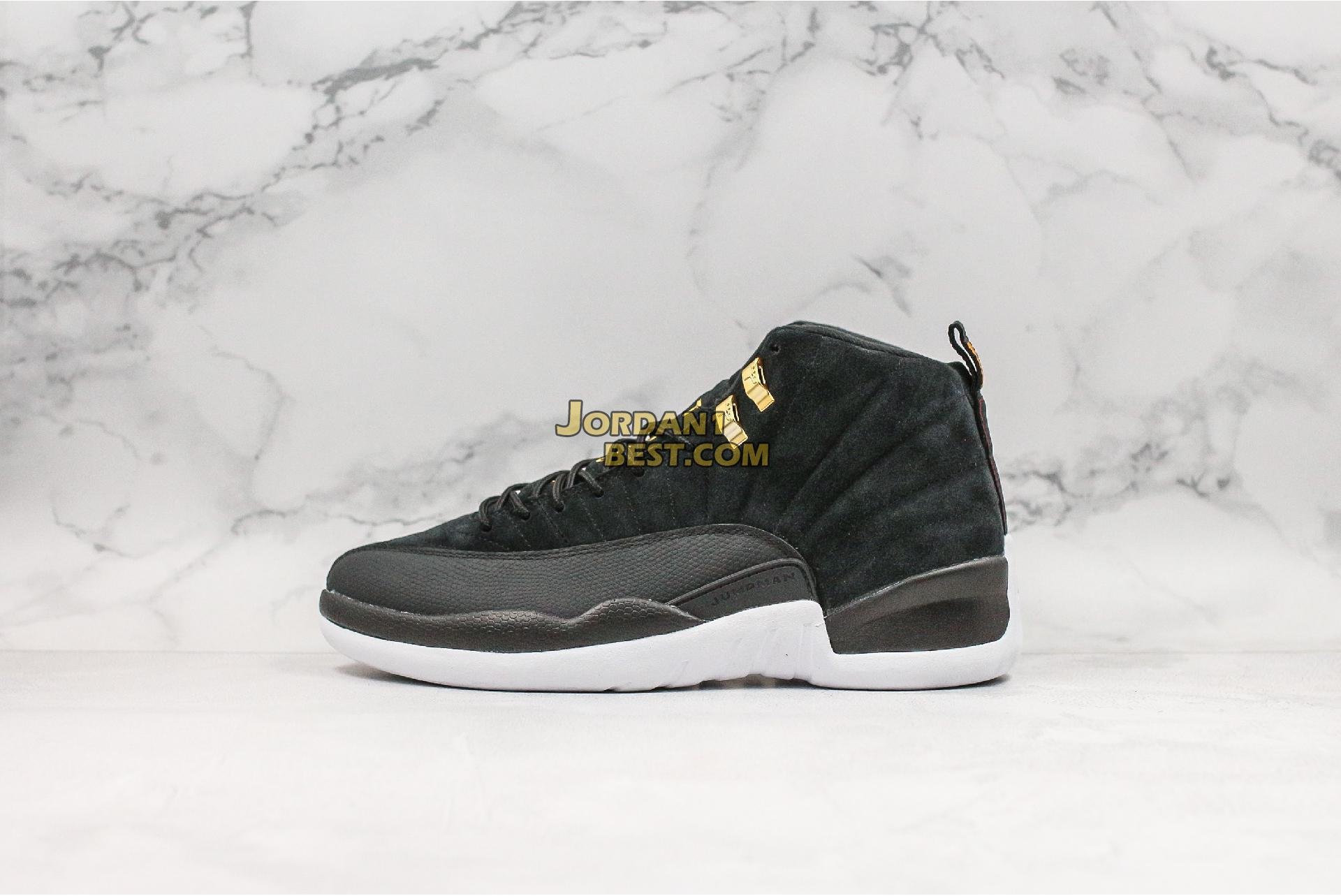 "Air Jordan 12 Retro ""Reverse Taxi"" 130690-017 Mens"