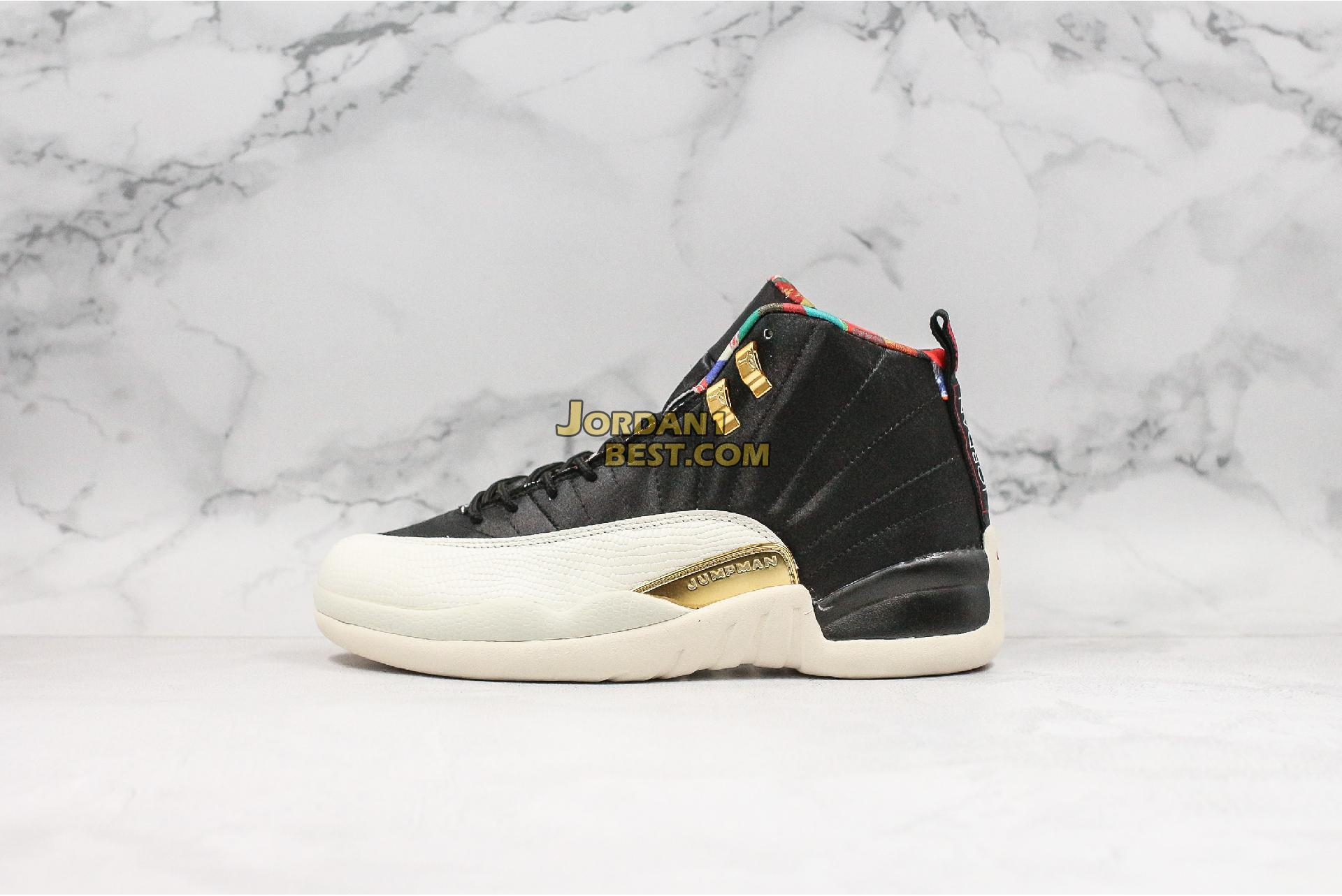 "2019 Air Jordan 12 Retro GS ""Chinese New Year"" BQ6497-006 Mens Womens"