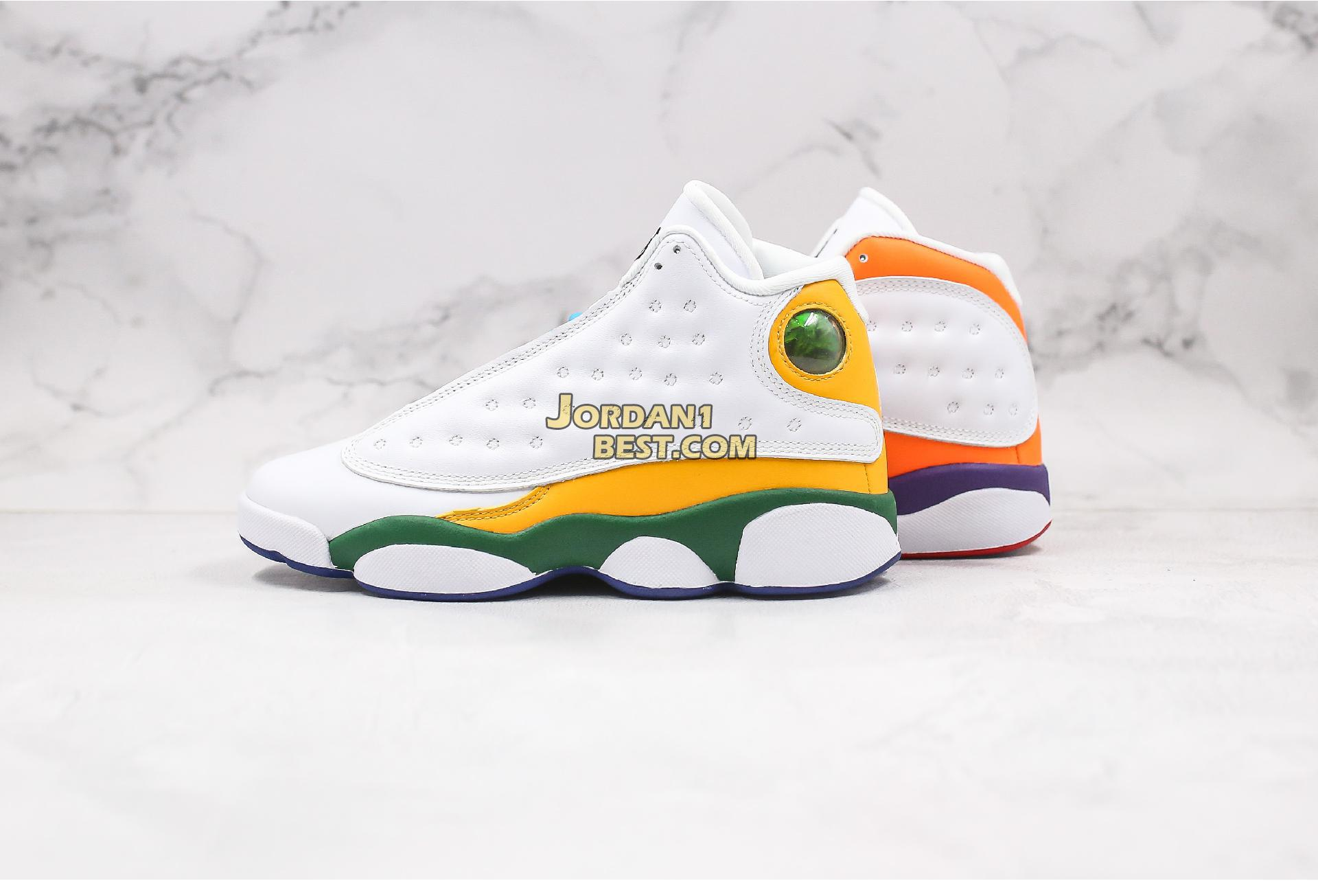 "Air Jordan 13 Retro GS ""Playground"" CV0785-158 Womens"