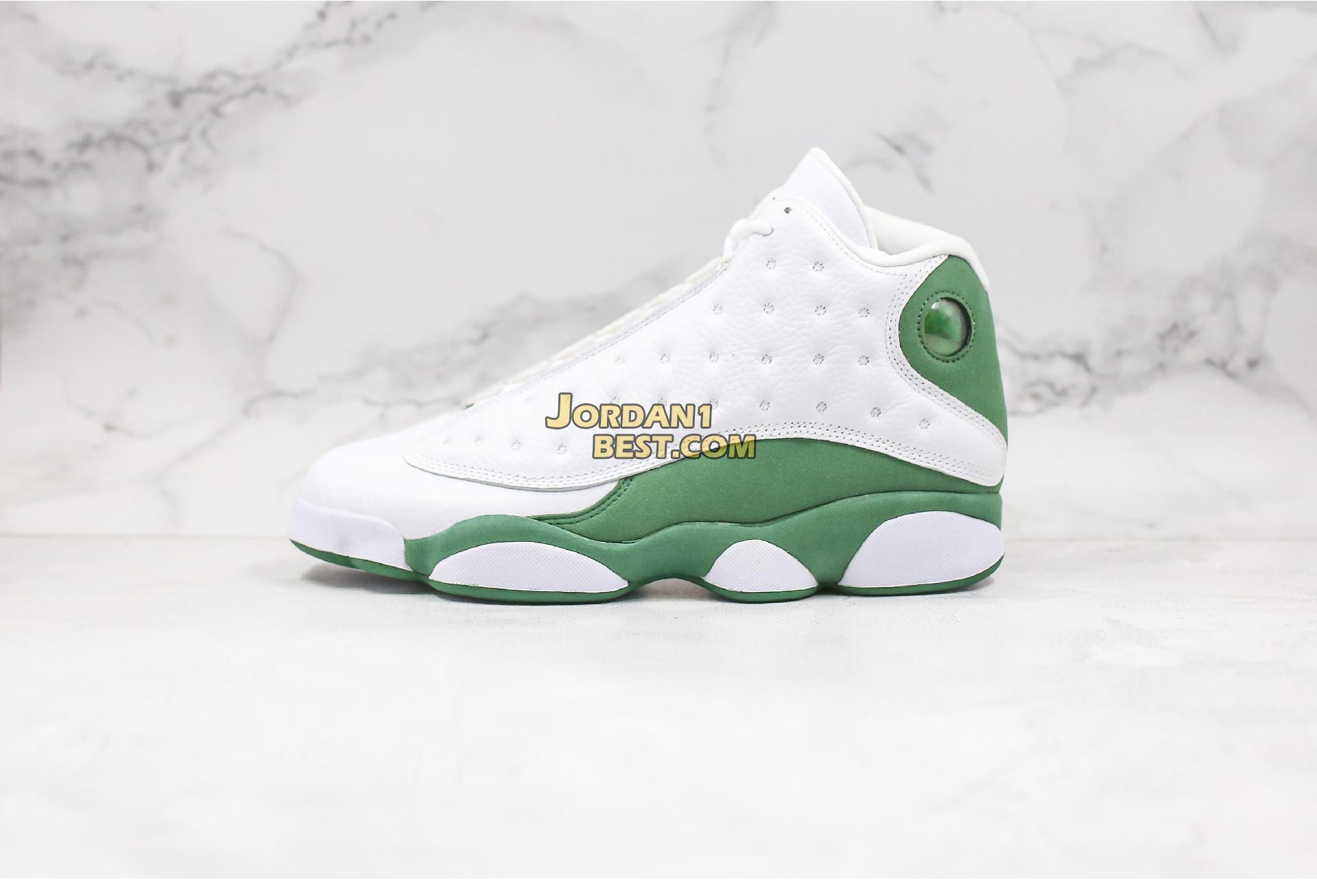 "Air Jordan 13 Retro ""Lucky Green"" DB6537-113 Mens"