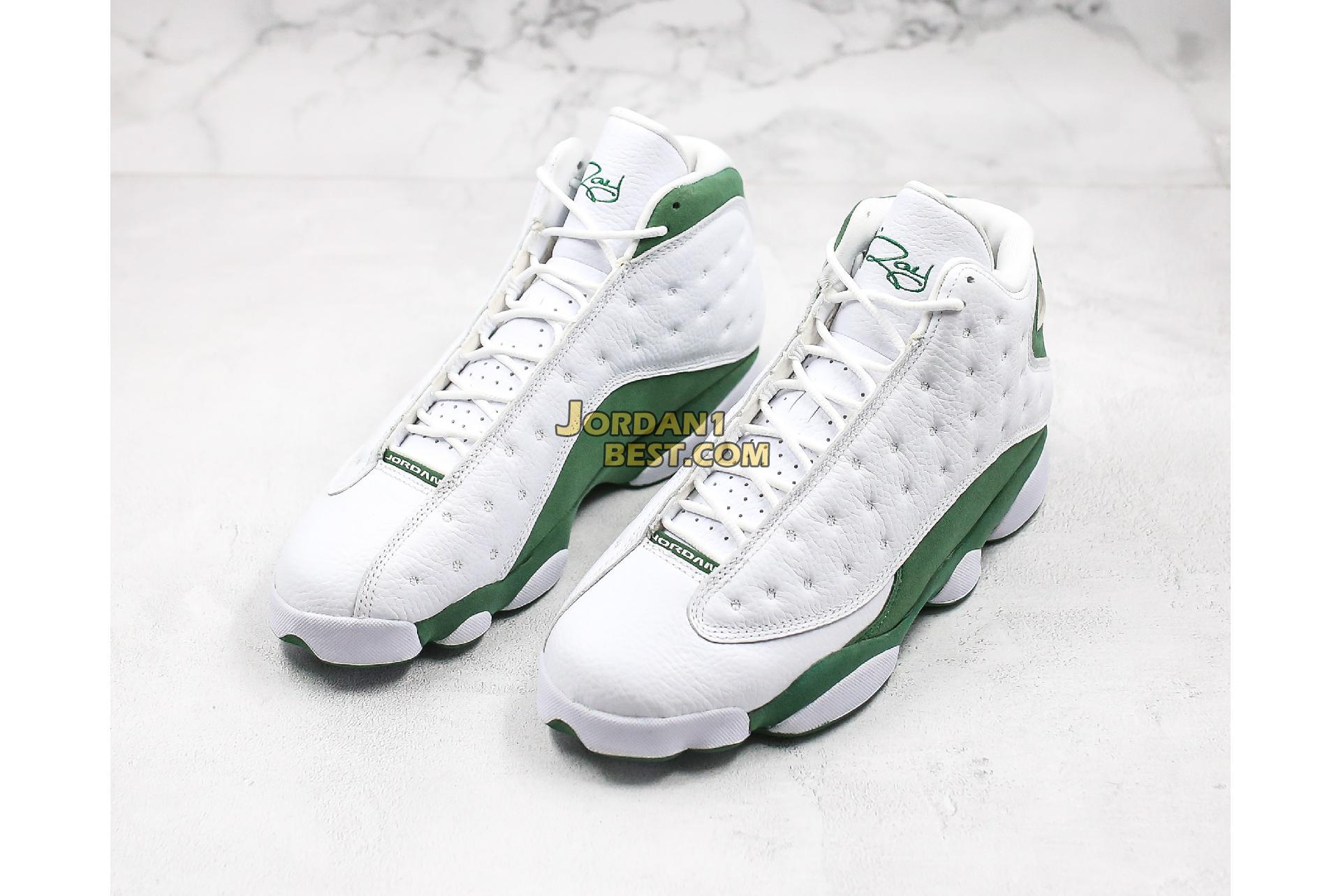 "Air Jordan 13 Retro ""Lucky Green"" DB6537-113 Mens"