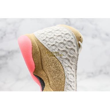 "fake Air Jordan 13 Retro ""Chinese New Year"" CW4409-100 Womens pale ivory/black-digital pink-club gold Shoes"