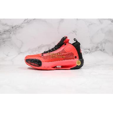 "best replicas Air Jordan 34 PF ""Infrared 23"" BQ3381-600 Mens infrared 23/black/black Shoes"