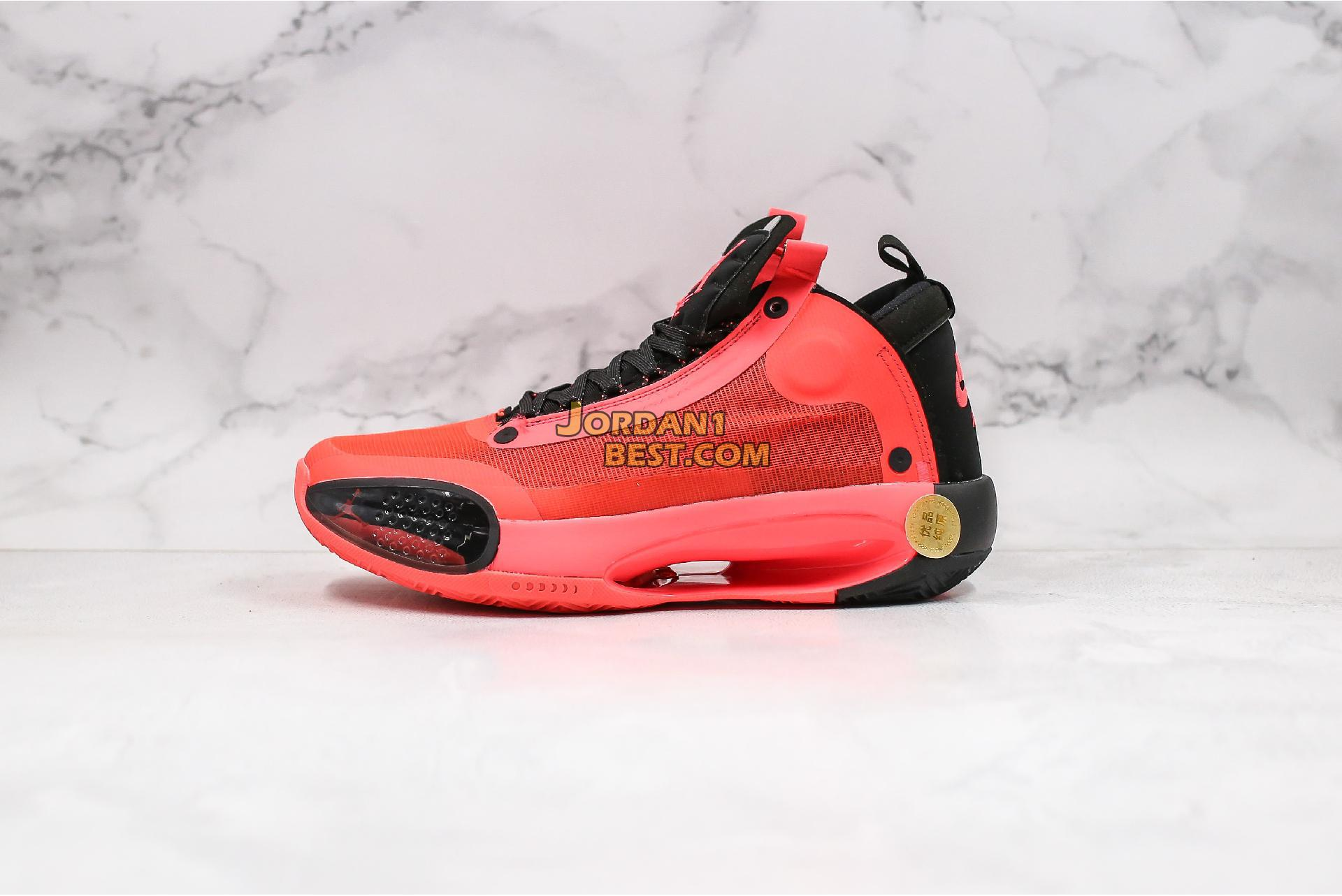 "Air Jordan 34 PF ""Infrared 23"" BQ3381-600 Mens"