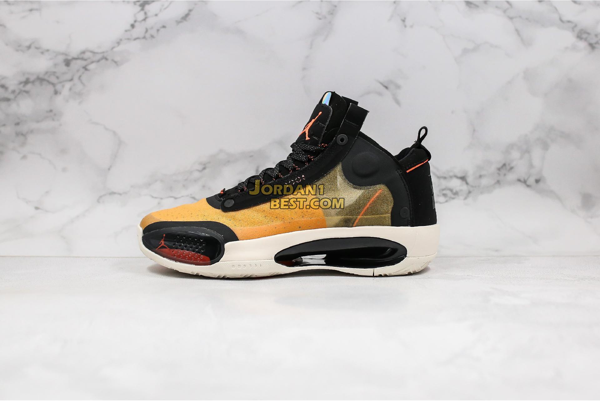 """Air Jordan 34 PF """"Amber Rise"""" BQ3381-800 Mens"""