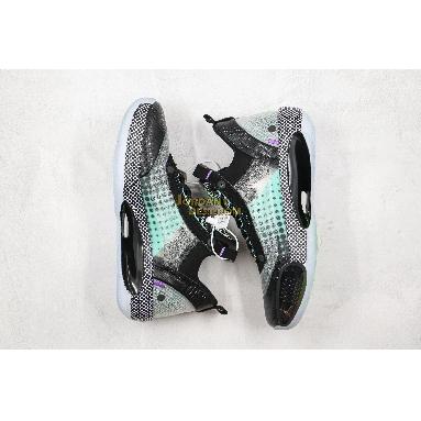 best replicas Air Jordan 34 XXXIV LOW PD PF CZ7751-013 Mens black/white/vapor green/bleached coral Shoes