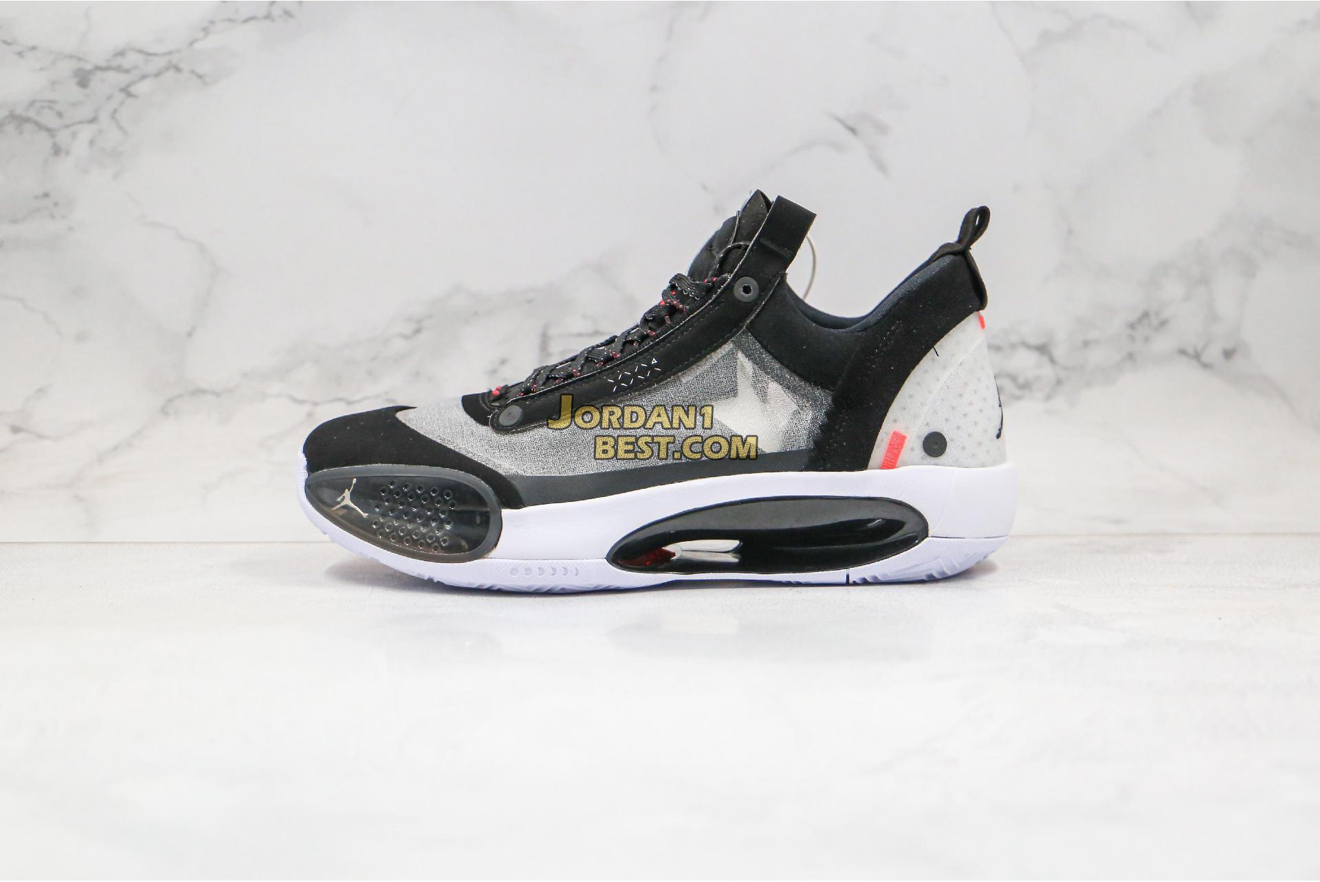 """Air Jordan 34 Low """"Heritage"""" CU3473-001 Mens"""
