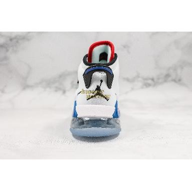 "AAA Quality NBA x Air Jordan Mars 270 ""Paris Game 2020"" CD7070-104 Mens white/black-university red Shoes"