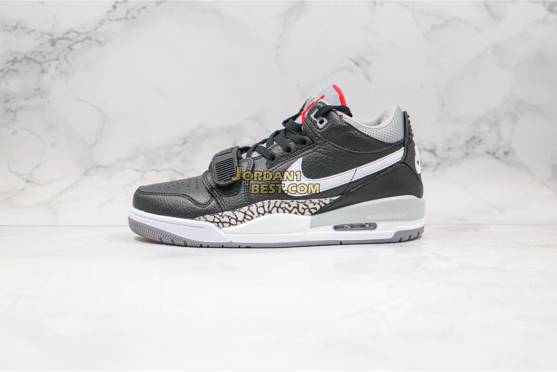 """Air Jordan Legacy 312 Low """"Black White"""" AV3928-001 Mens Womens"""