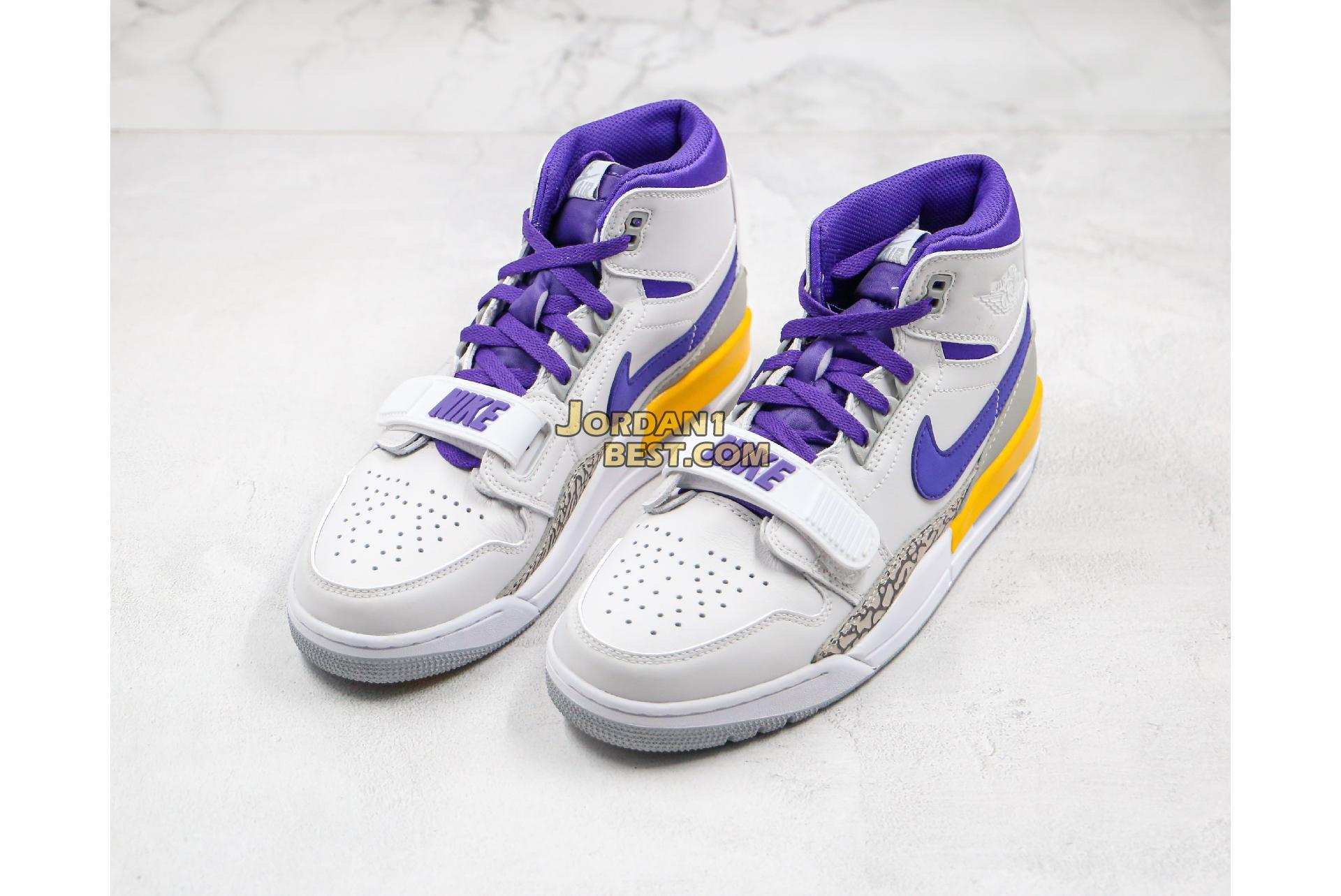 "Air Jordan Legacy 312 ""Lakers"" AV3922-157 Mens"