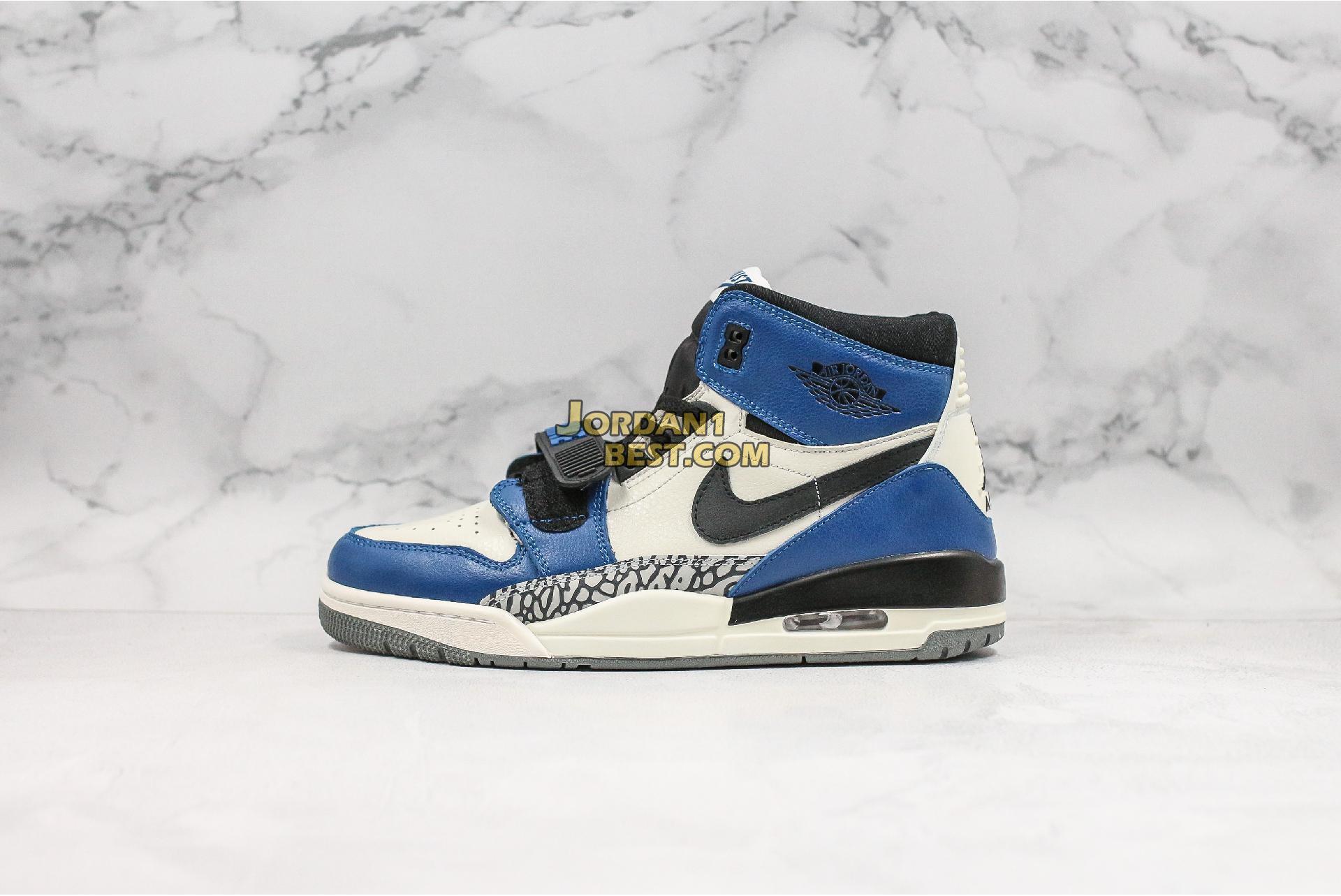 """Just Don x Jordan Legacy 312 """"Storm Blue"""" AQ4160-104 Mens"""