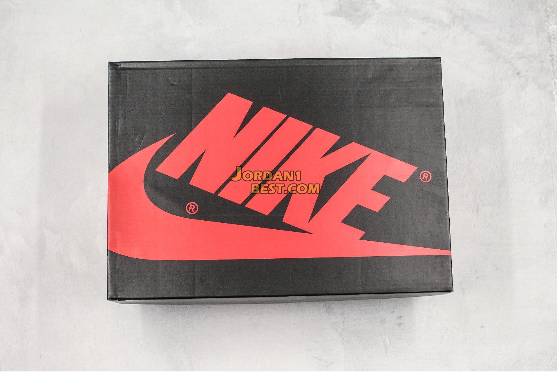"""Off-White x Futura x Air Jordan 1 Retro """"OW Red Brown"""" 52937-610 Mens Womens"""