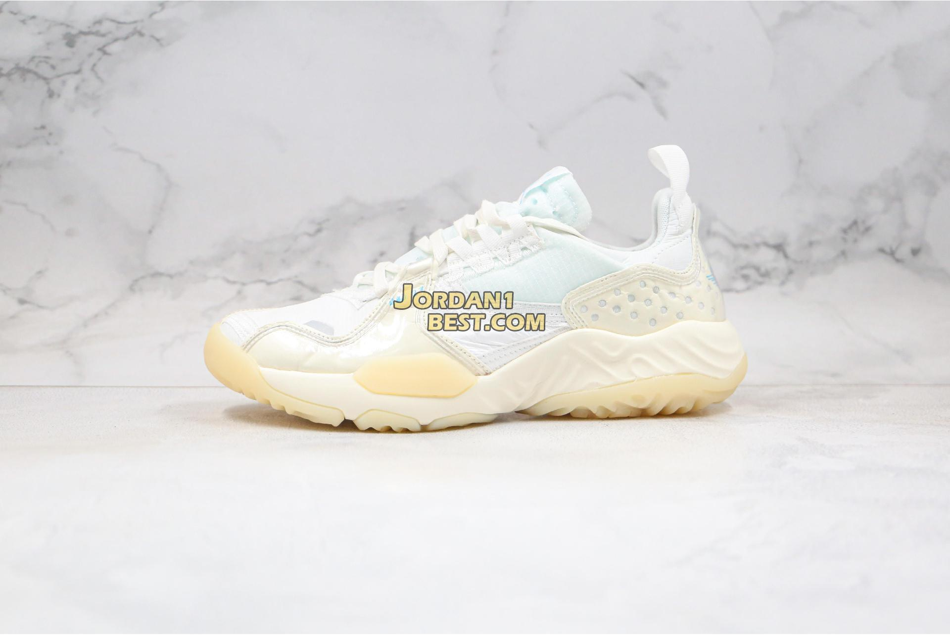 "new replicas Air Jordan Delta SP ""Sail"" CW0782-141 Mens Womens sail/white-photo blue Shoes"